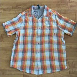 Men's MERRELL Reversible casual Short Sleeve Shirt